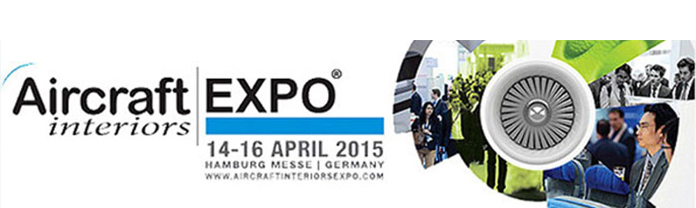 Aircraft Interiors Expo 2015, Hamburg
