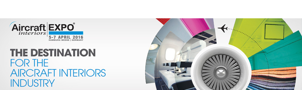 Aircraft Interiors Expo 2016, Hamburg