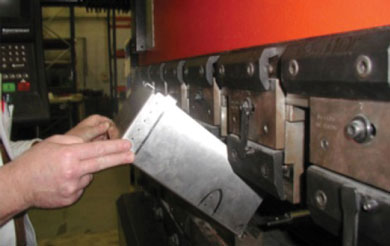 Cutting, folding digital control